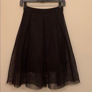 Charlotte Russe rich black a-line skirt. Like new.